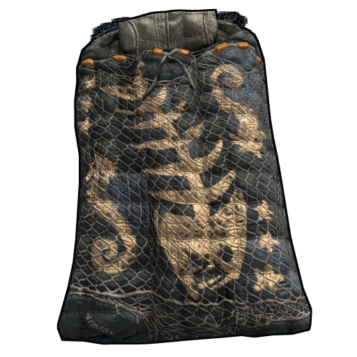 Fisher Sleeping Bag as seen on a Steam Market