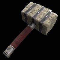 Museum Raider Hammer