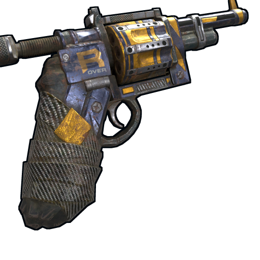 Sting Revolver as seen on a Steam Market