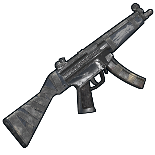 Arctic Wolf MP5 as seen on a Steam Market