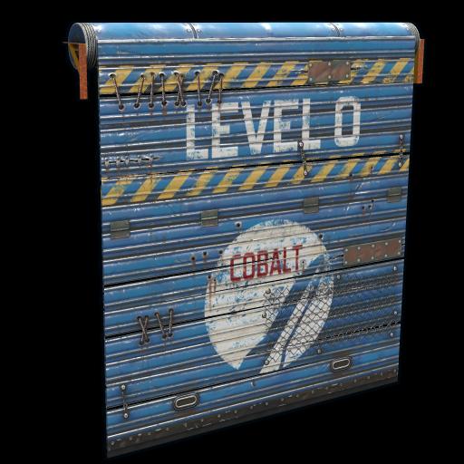 Cobalt Space Door as seen on a Steam Market