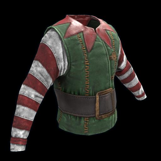 Santa's Helper Shirt as seen on a Steam Market
