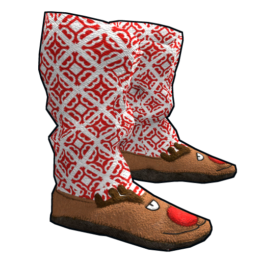 Rudolph Slippers as seen on a Steam Market
