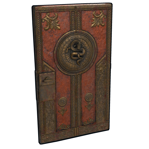 Dragon Relic Door as seen on a Steam Market