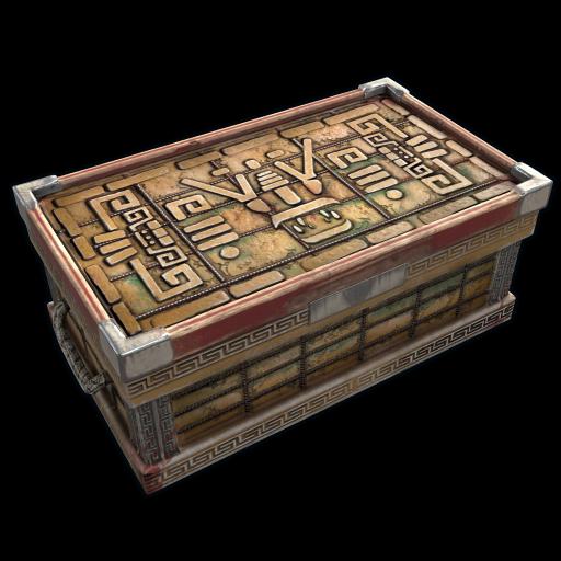 Aztec Trunk as seen on a Steam Market