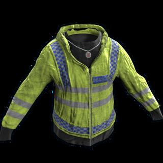 Yellow Police Jacket