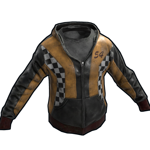 Yellow Racer Hoodie as seen on a Steam Market