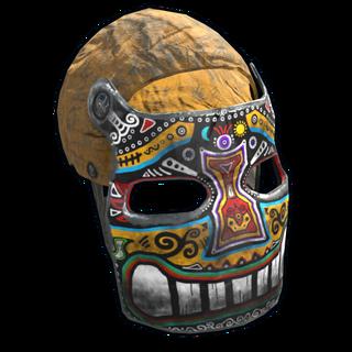 Sunrise Metal Facemask