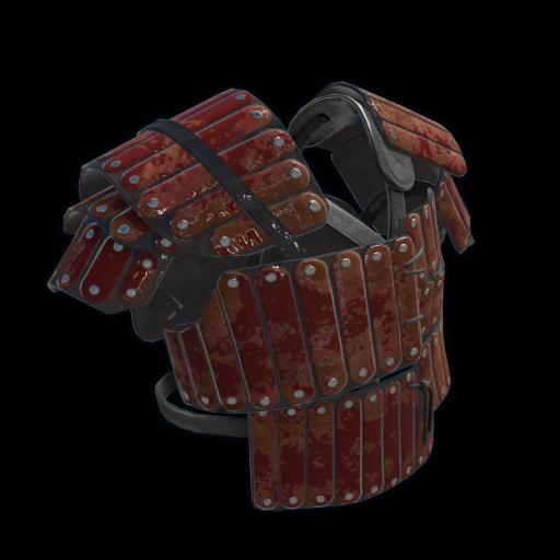 Junkyard Samurai Vest as seen on a Steam Market