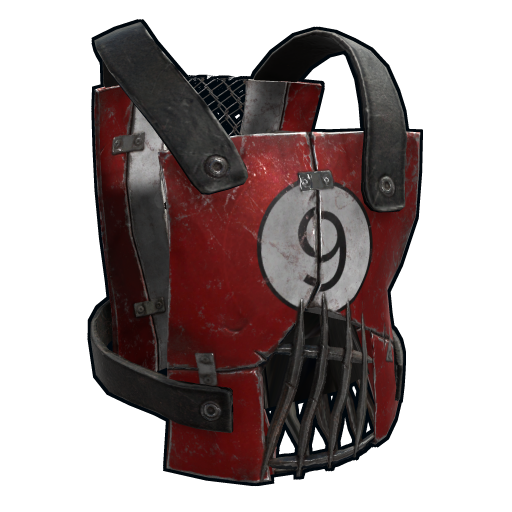Retro Car Parts Chestplate as seen on a Steam Market