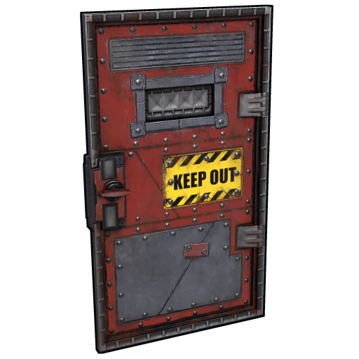 Keep Out Armored Door as seen on a Steam Market