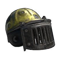 Blast Shield Helmet