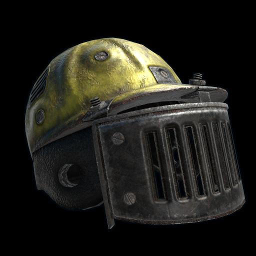 Blast Shield Helmet as seen on a Steam Market