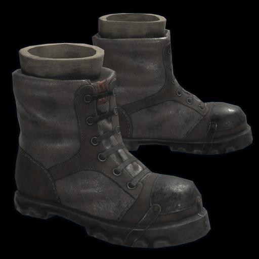 Explorer Boots as seen on a Steam Market