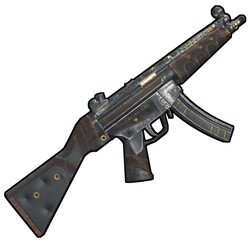 Nomad MP5 as seen on a Steam Market
