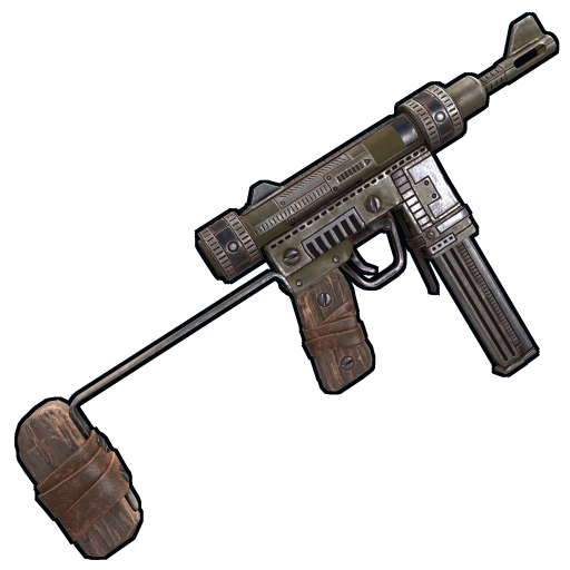 Looter's SMG as seen on a Steam Market