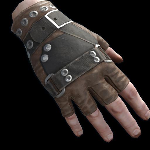Caravanner Gloves as seen on a Steam Market