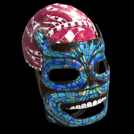 Mosaic Mask as seen on a Steam Market
