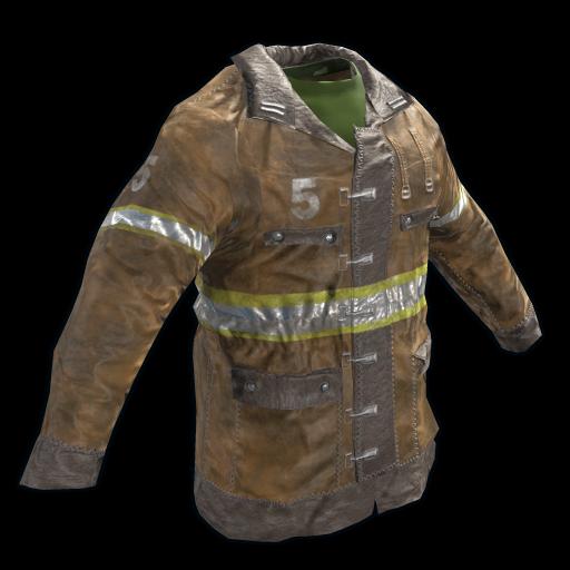 Fireman's Jacket as seen on a Steam Market