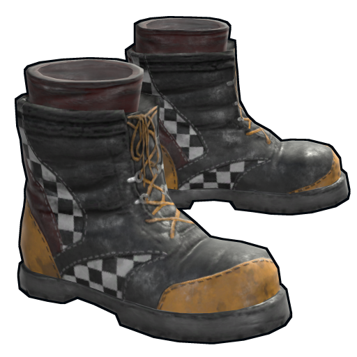 Yellow Race Boots as seen on a Steam Market