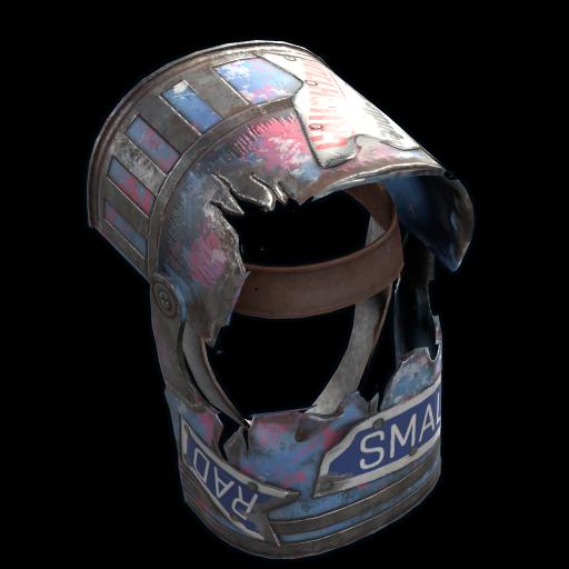 Epidemic Helmet as seen on a Steam Market