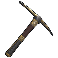 Ornate Pick Axe