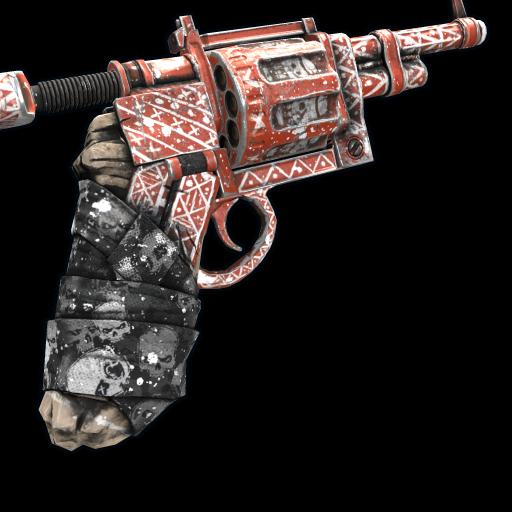 Shamanism Revolver as seen on a Steam Market