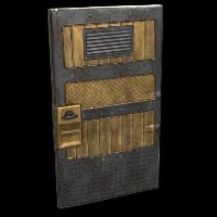 Brass Sentinel Door