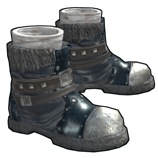 Arctic Wolf Boots as seen on a Steam Market