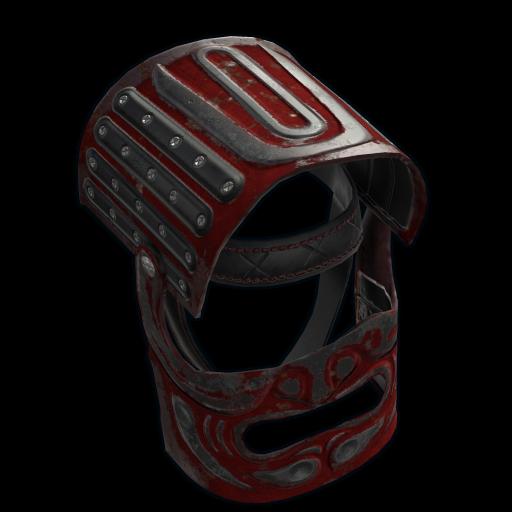 Junkyard Samurai Helmet as seen on a Steam Market