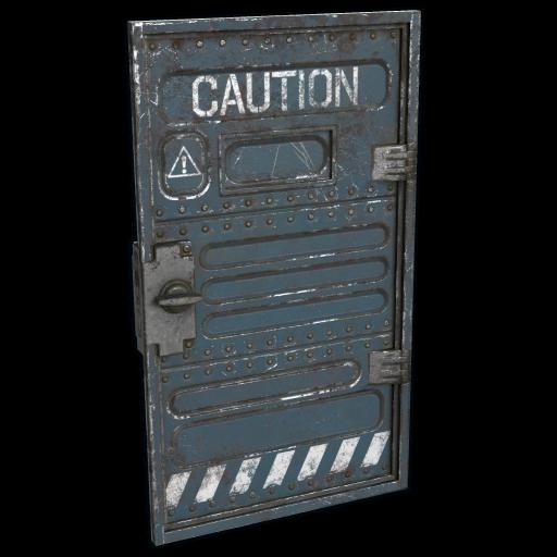 Bunker Door as seen on a Steam Market
