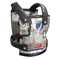 Space Rocket Chest Plate