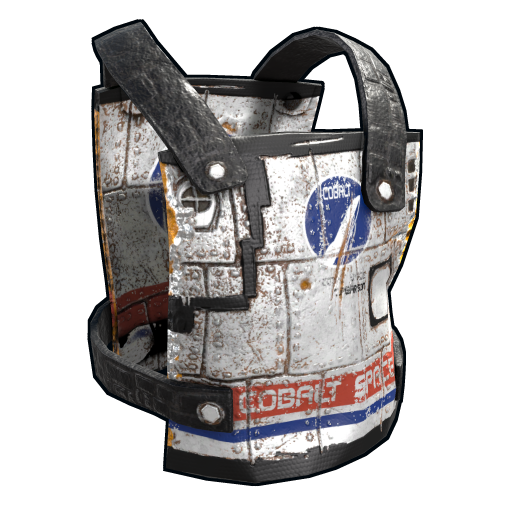 Space Rocket Chest Plate as seen on a Steam Market