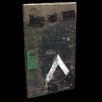 Salvaged APC Door