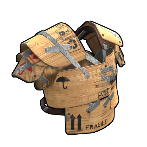 Plywood Vest as seen on a Steam Market