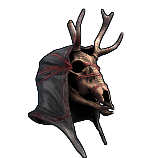 Uprising Deer Skull Mask as seen on a Steam Market
