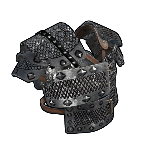 Spiked Metal Vest as seen on a Steam Market