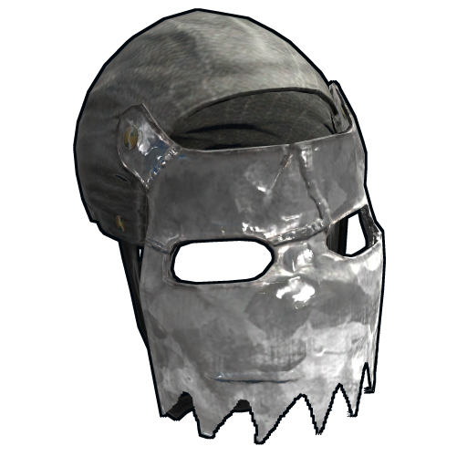 Stainless Facemask as seen on a Steam Market