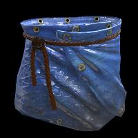 Blue Tarp Skirt