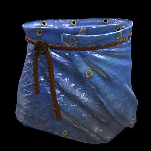 Blue Tarp Skirt as seen on a Steam Market