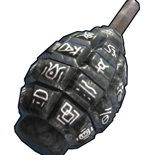 Voodoo Grenade as seen on a Steam Market
