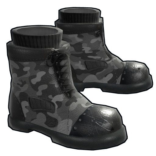 Tactical Boots as seen on a Steam Market