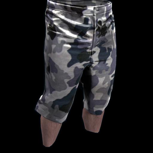 Snow Camo Shorts as seen on a Steam Market