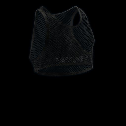 Black Mesh Crop Top as seen on a Steam Market