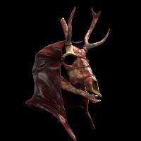 Demonic Deer Skull