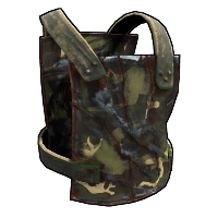 Forest Camo Chest Plate