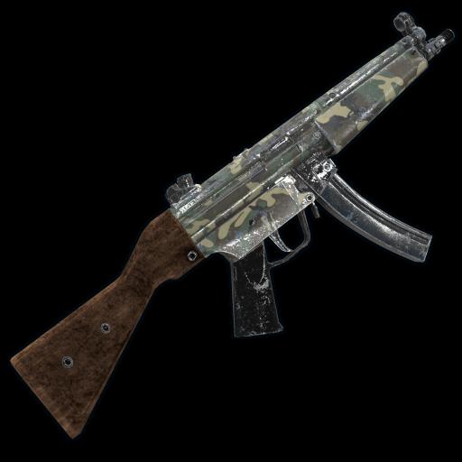 Military Camo MP5 as seen on a Steam Market