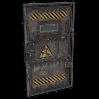 Laboratory Armored Door