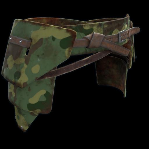 Military Camo Roadsign Kilt