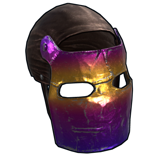 Tempered Mask as seen on a Steam Market